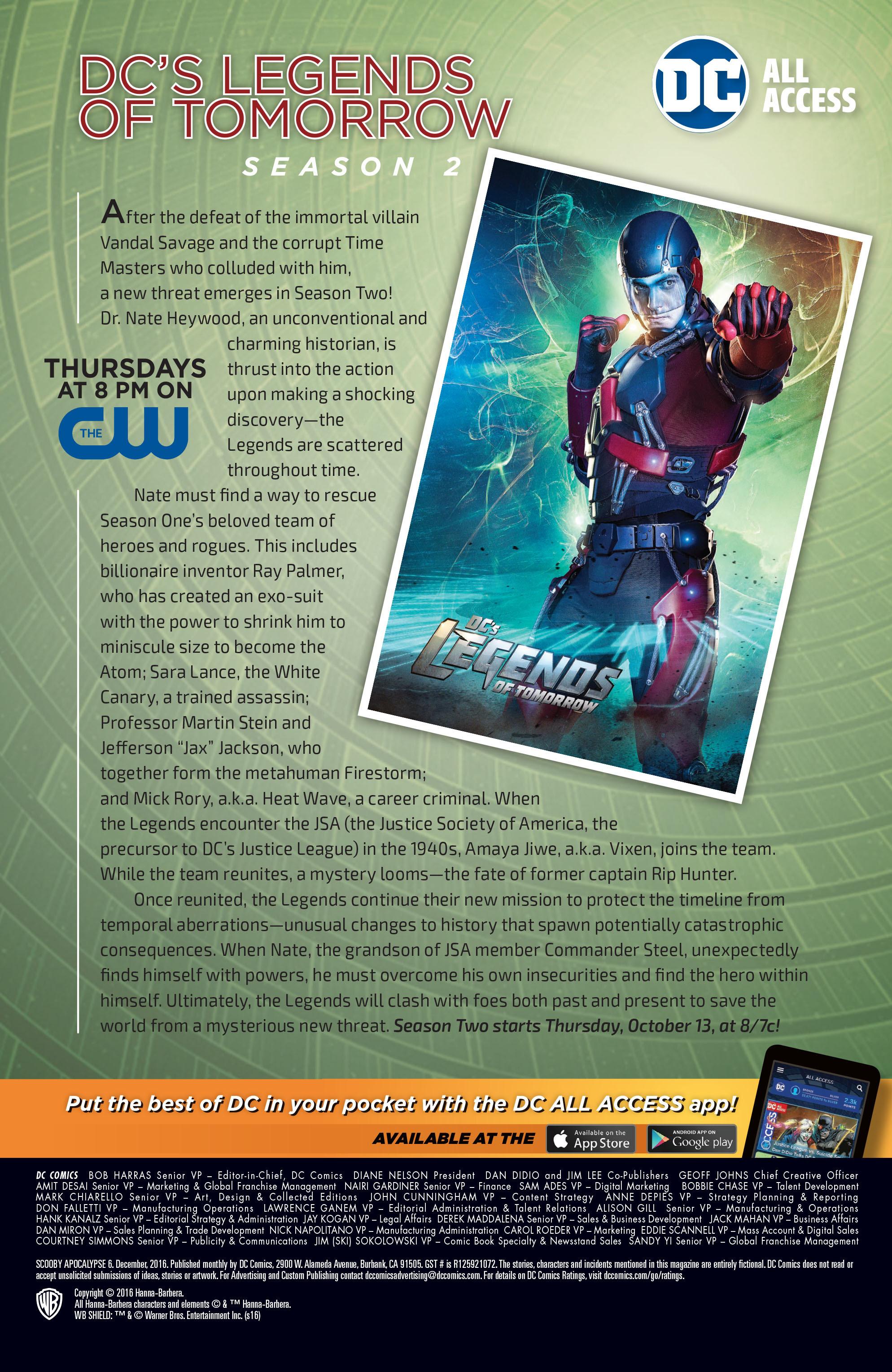 Read online Scooby Apocalypse comic -  Issue #6 - 27