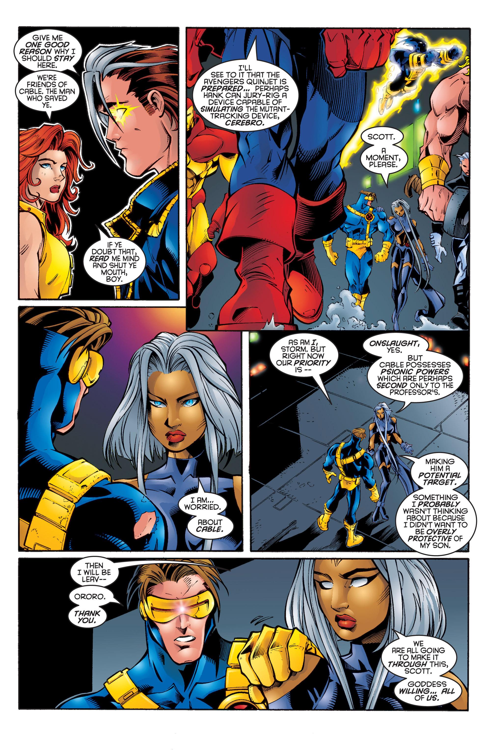 Uncanny X-Men (1963) 335 Page 17