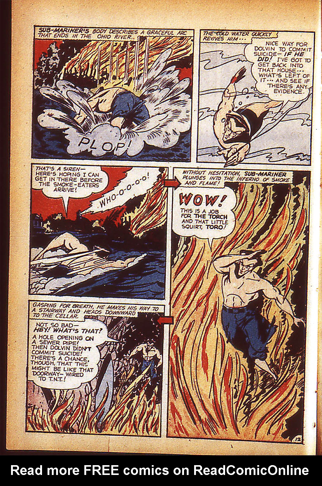 Sub-Mariner Comics Issue #10 #10 - English 15