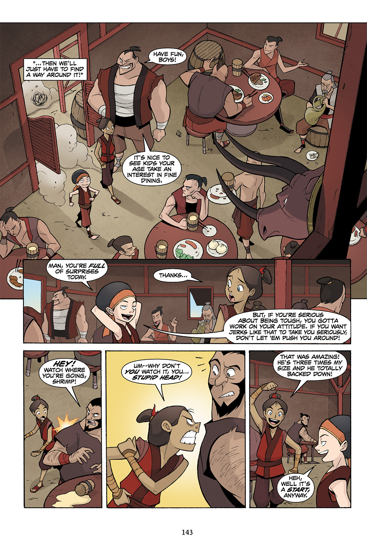 Nickelodeon Avatar: The Last Airbender - The Lost Adventures chap full pic 144