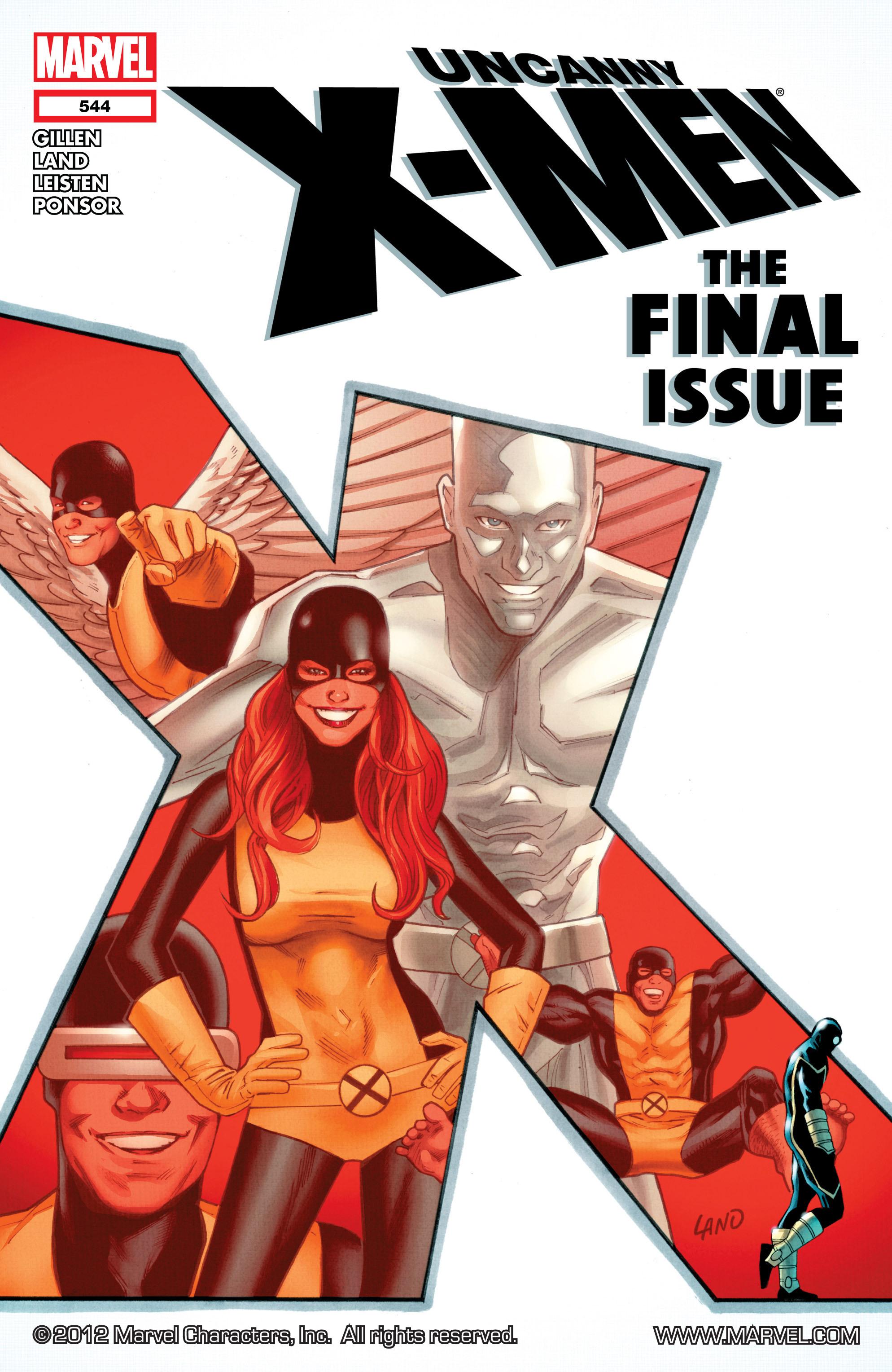 Uncanny X-Men (1963) 544 Page 1