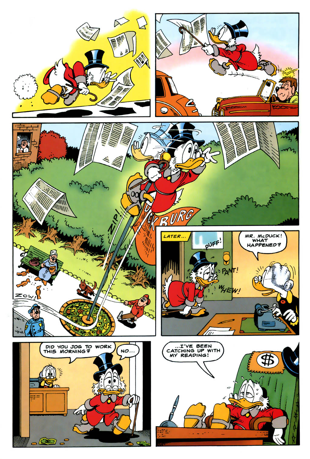 Uncle Scrooge (1953) Issue #322 #322 - English 36