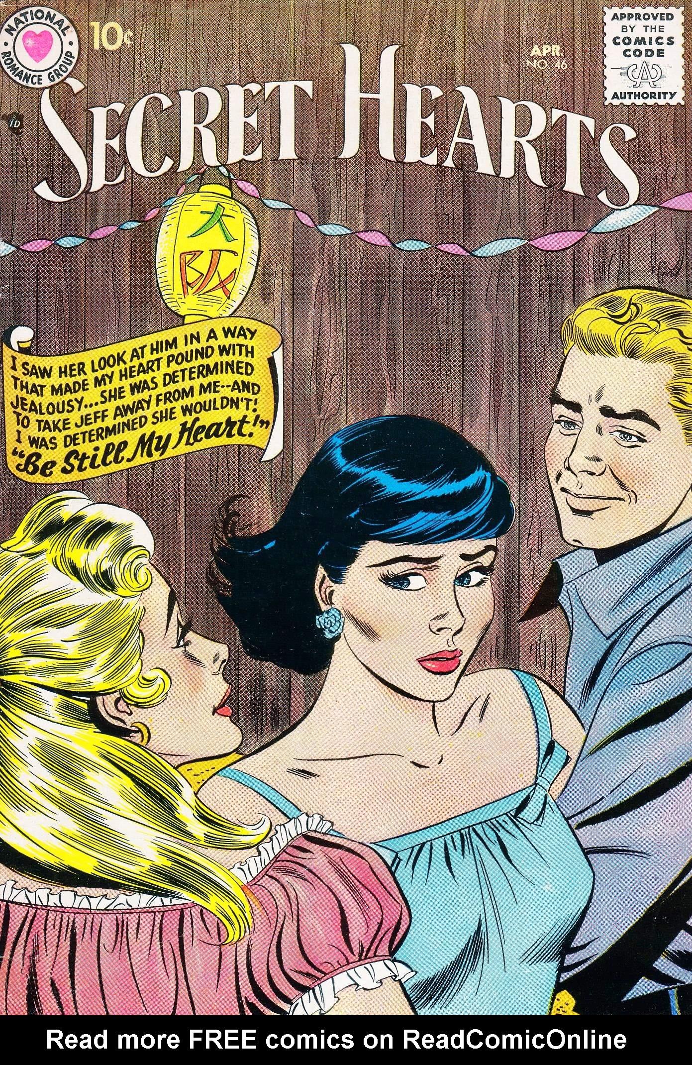 Read online Secret Hearts comic -  Issue #46 - 1