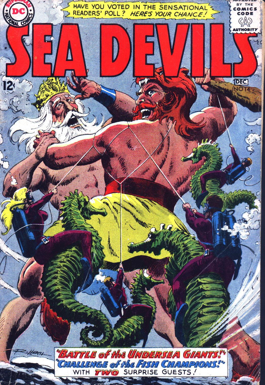 Read online Sea Devils comic -  Issue #14 - 1