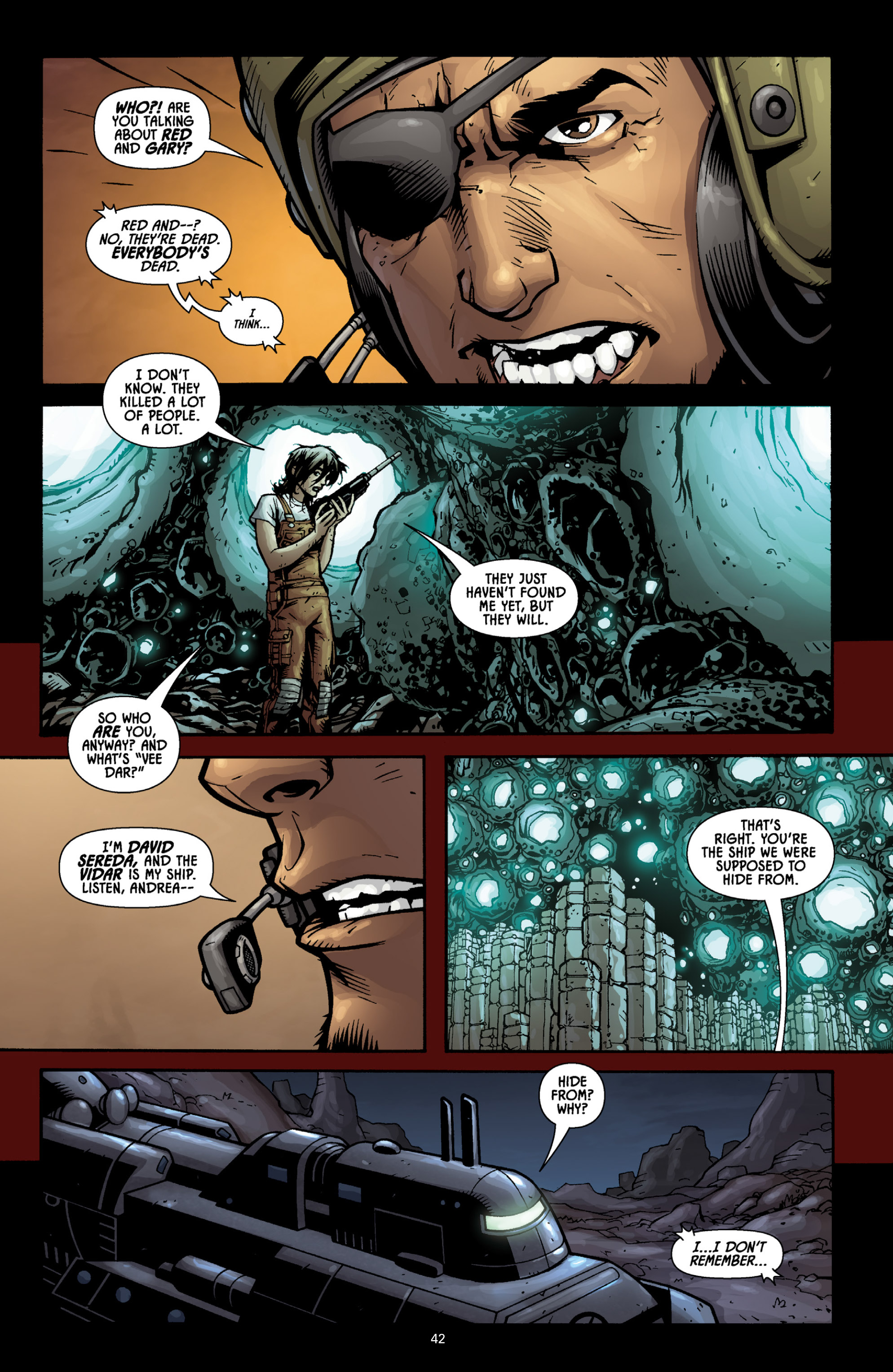 Aliens (2009) TPB Page 38