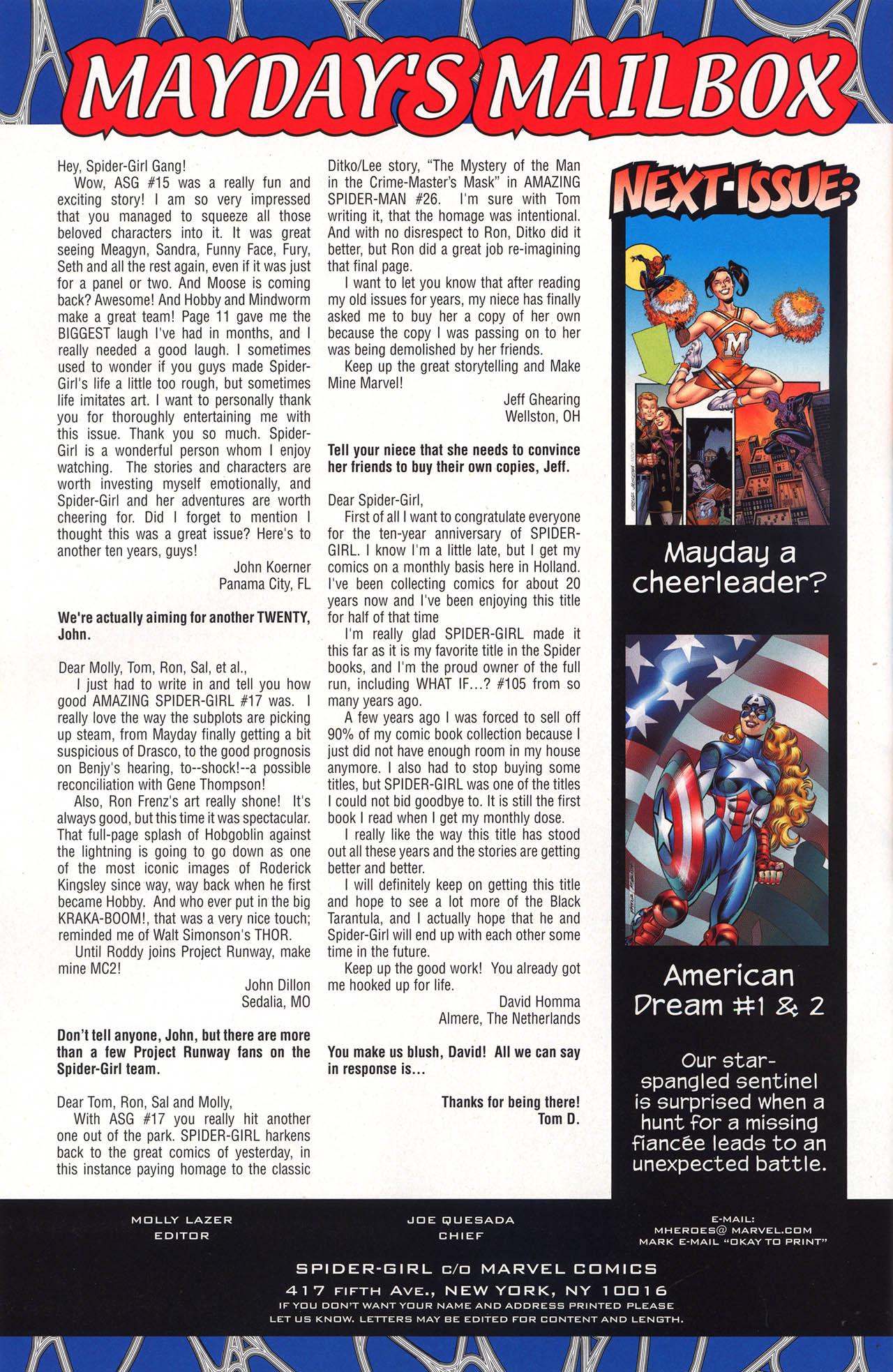 Amazing Spider-Girl #19 #12 - English 33