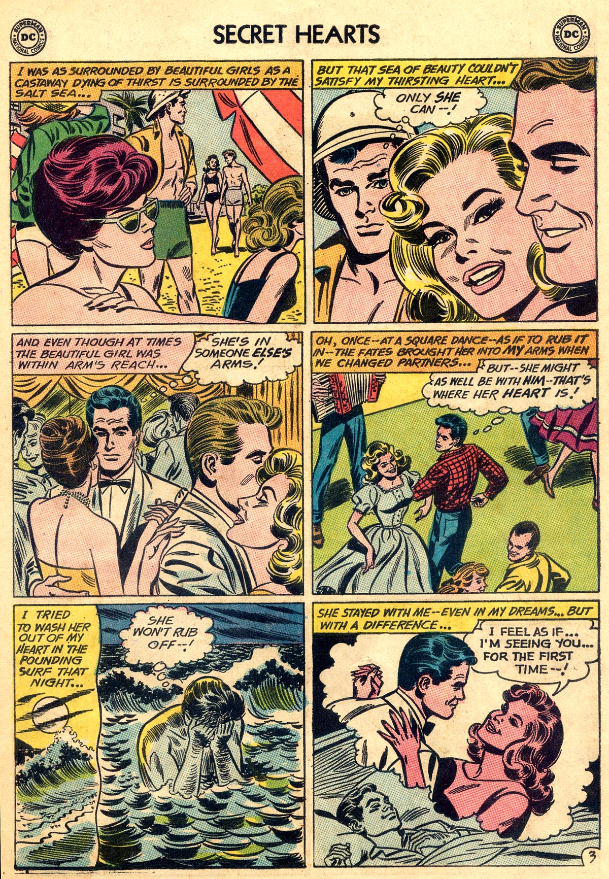 Read online Secret Hearts comic -  Issue #92 - 29