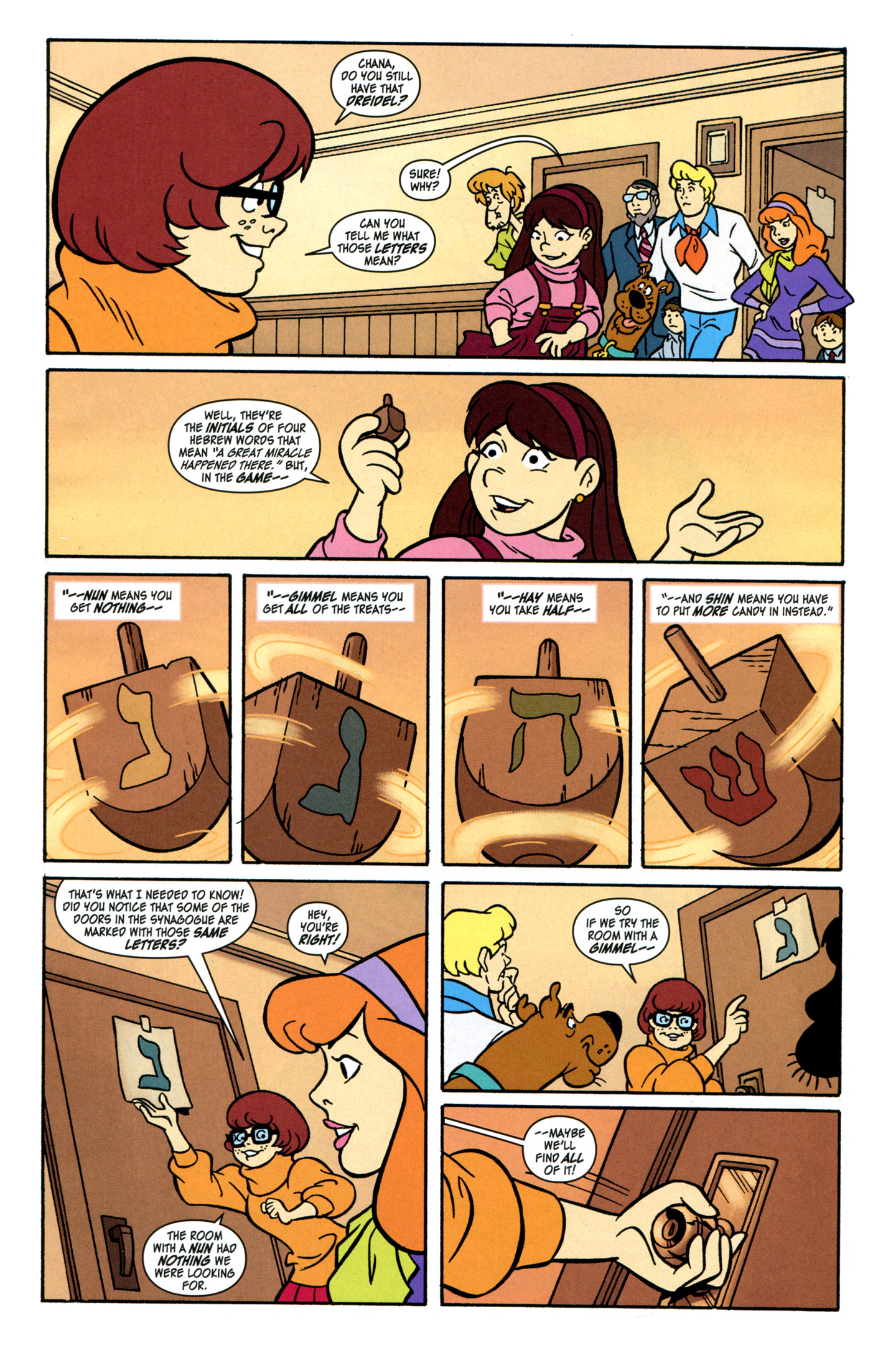 Read online Scooby-Doo: Where Are You? comic -  Issue #28 - 11