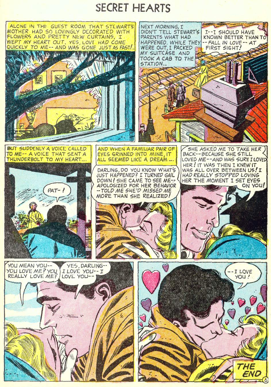 Read online Secret Hearts comic -  Issue #22 - 8