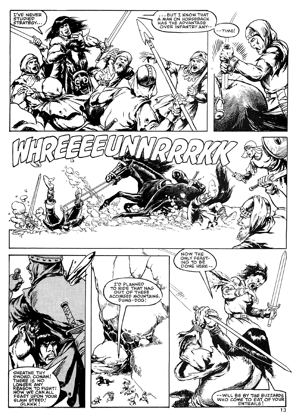 The Savage Sword Of Conan Issue #110 #111 - English 14