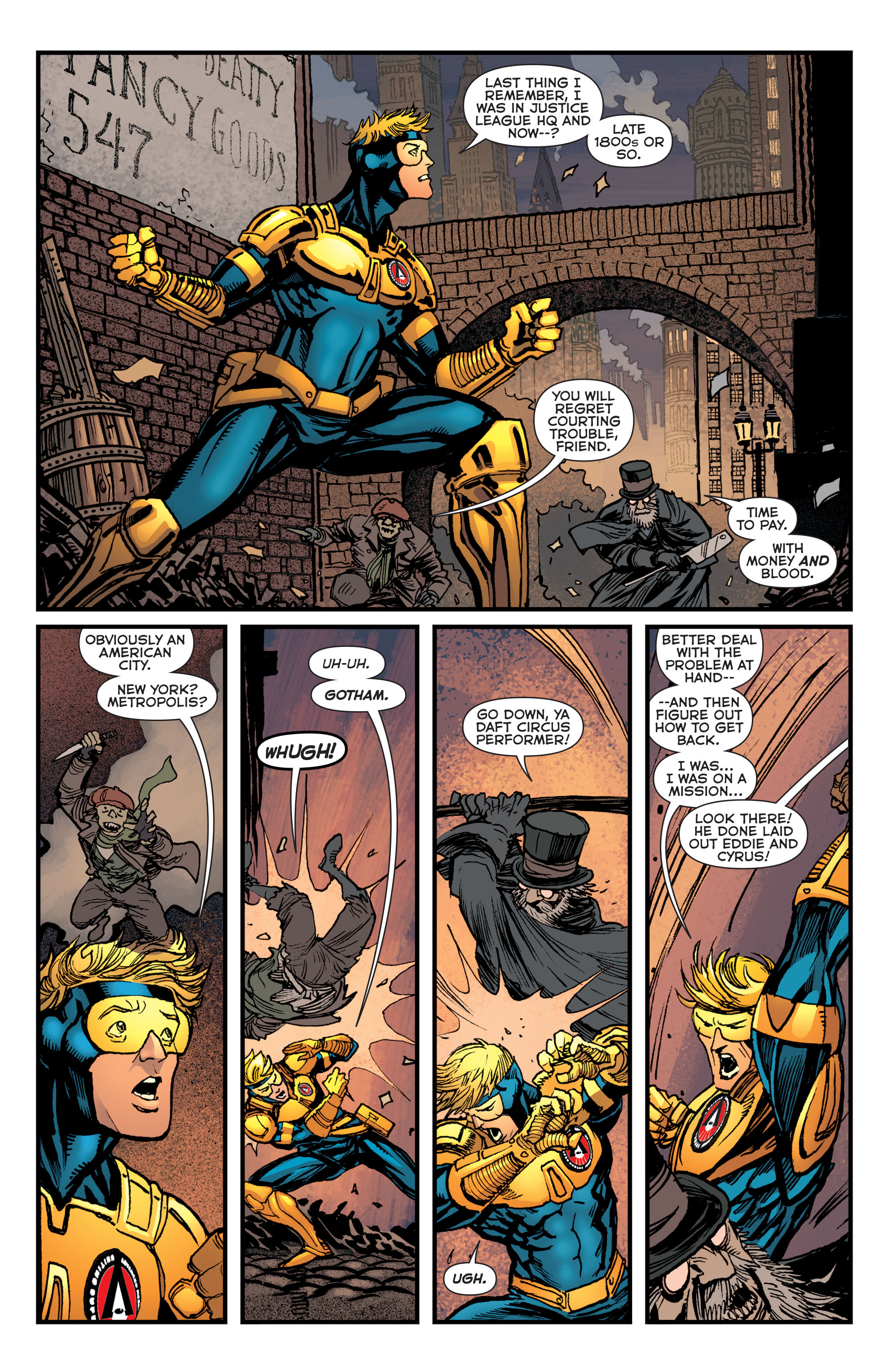Read online Booster Gold: Futures End comic -  Issue # Full - 4