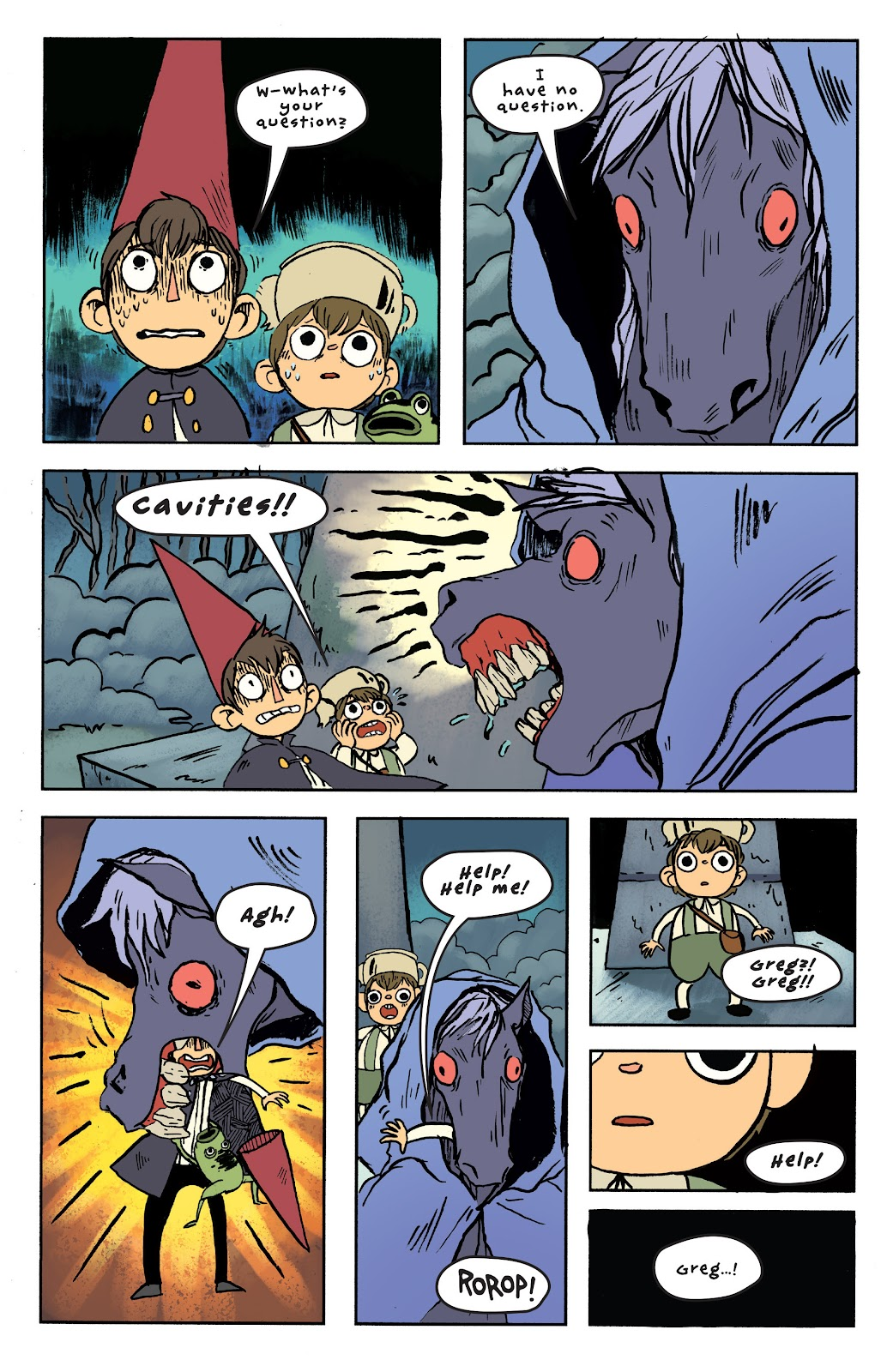 Over the Garden Wall (2016) Issue #6 #6 - English 22