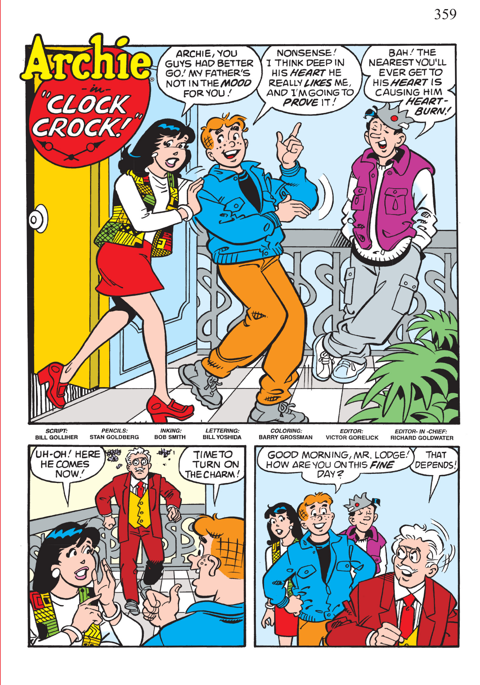 Read online The Best of Archie Comics comic -  Issue # TPB 1 (Part 2) - 129