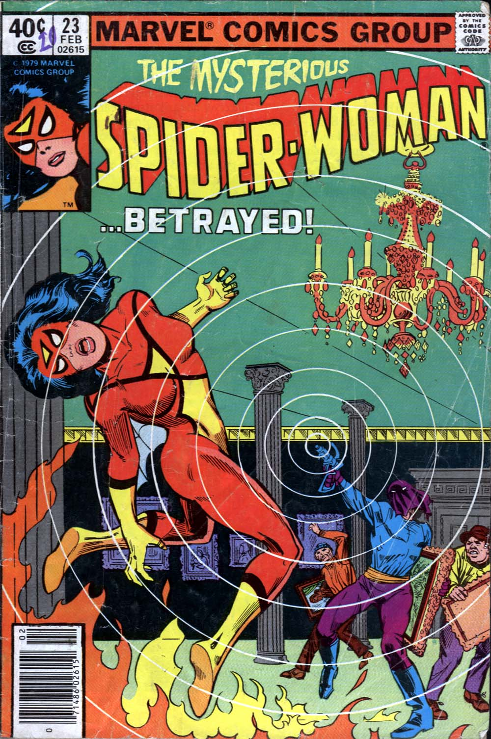 Spider-Woman (1978) Issue #23 #23 - English 1