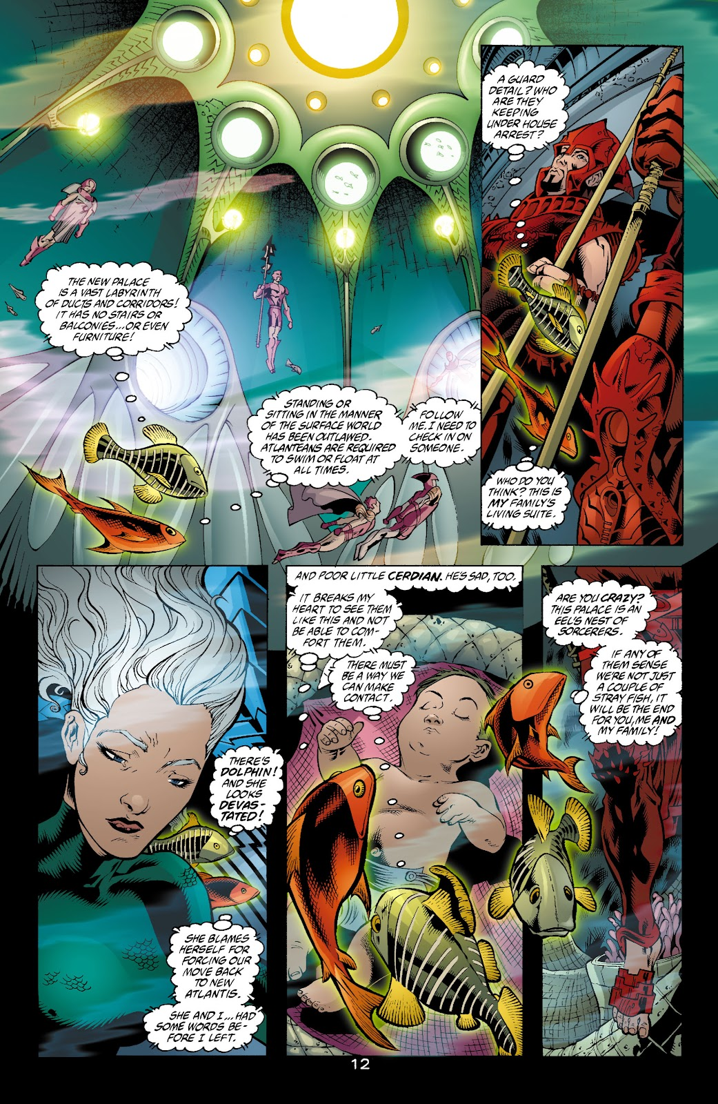 Aquaman (2003) Issue #4 #4 - English 13