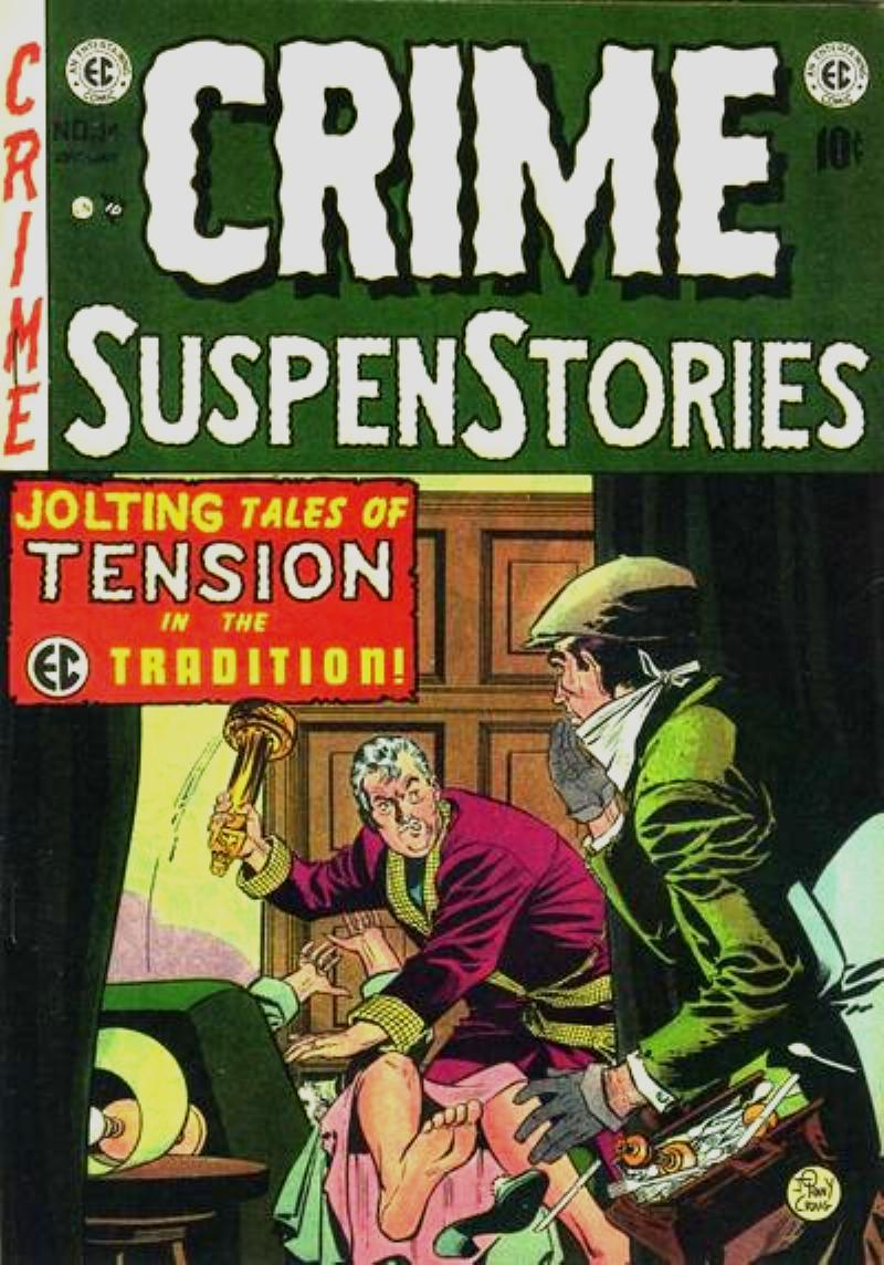 Crime SuspenStories 14 Page 1