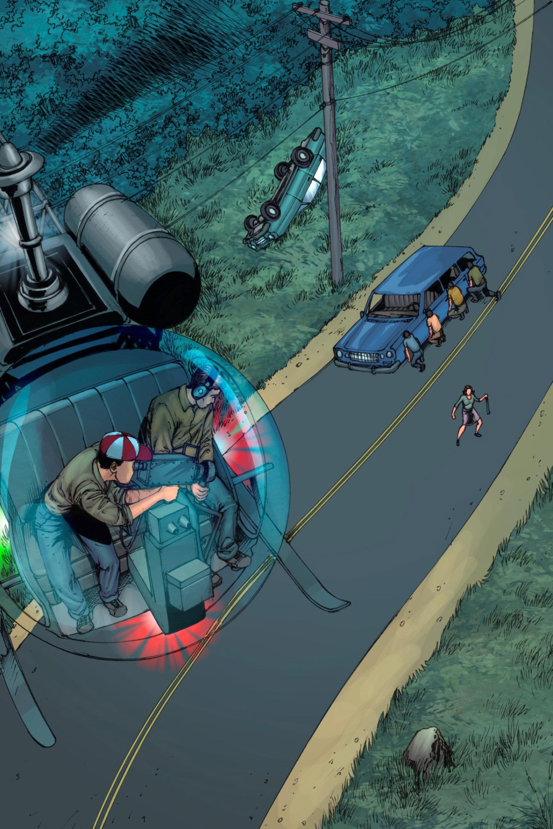 Read online Z-Men comic -  Issue #3 - 44