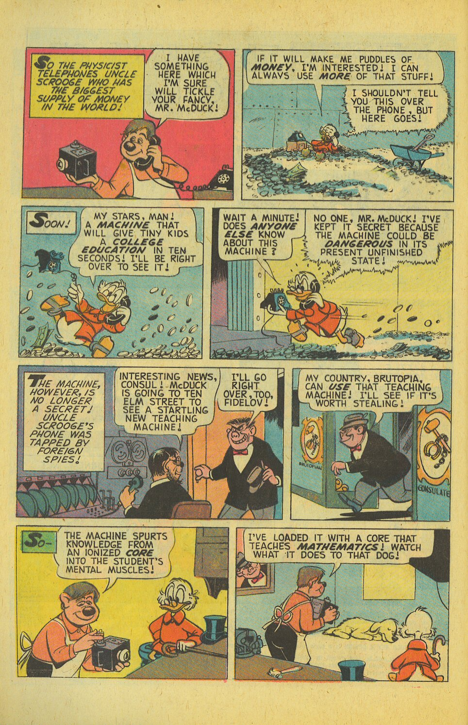 Uncle Scrooge (1953) Issue #123 #123 - English 4