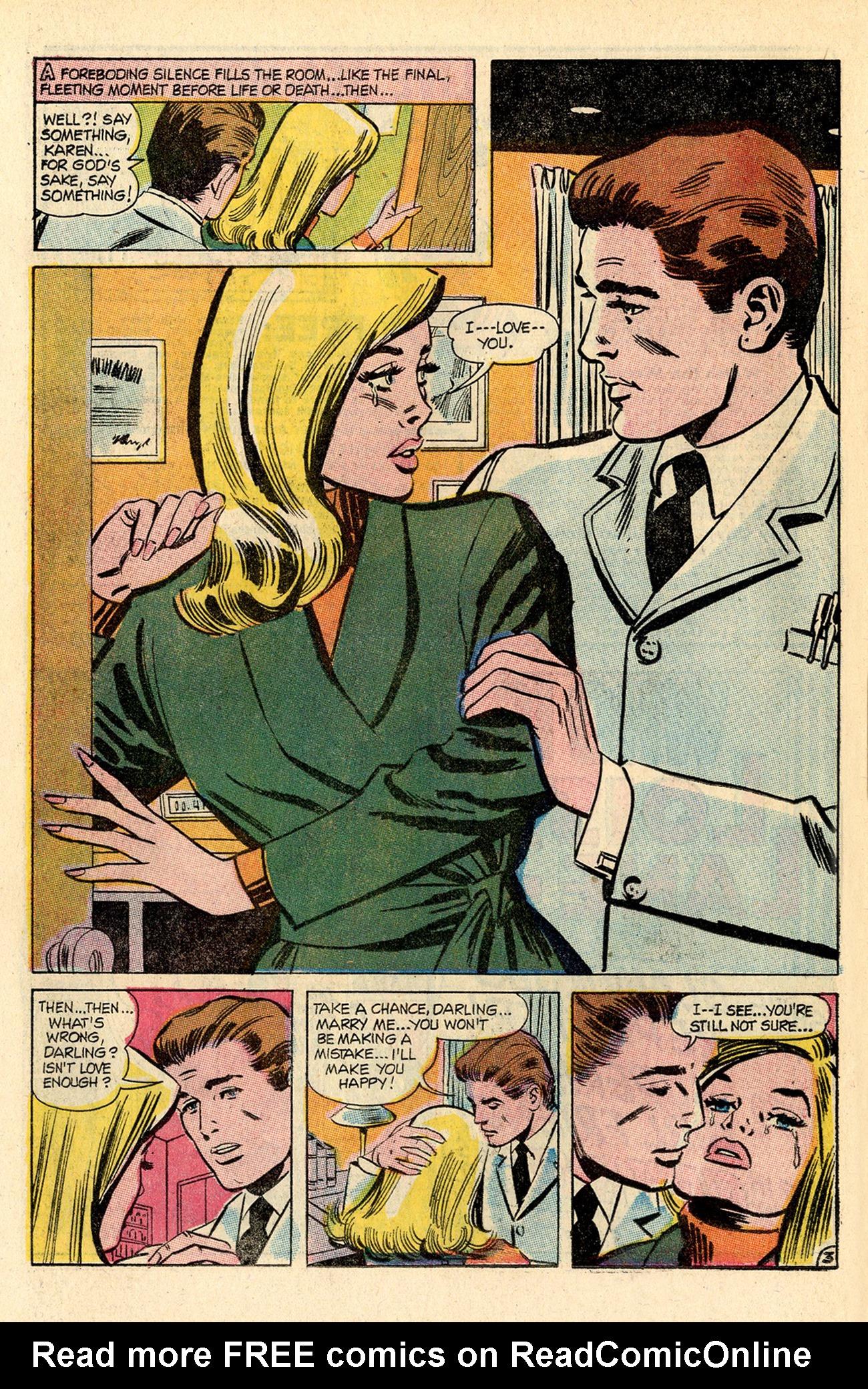 Read online Secret Hearts comic -  Issue #138 - 22