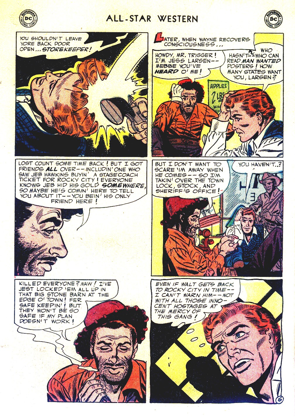Read online All-Star Western (1951) comic -  Issue #66 - 7
