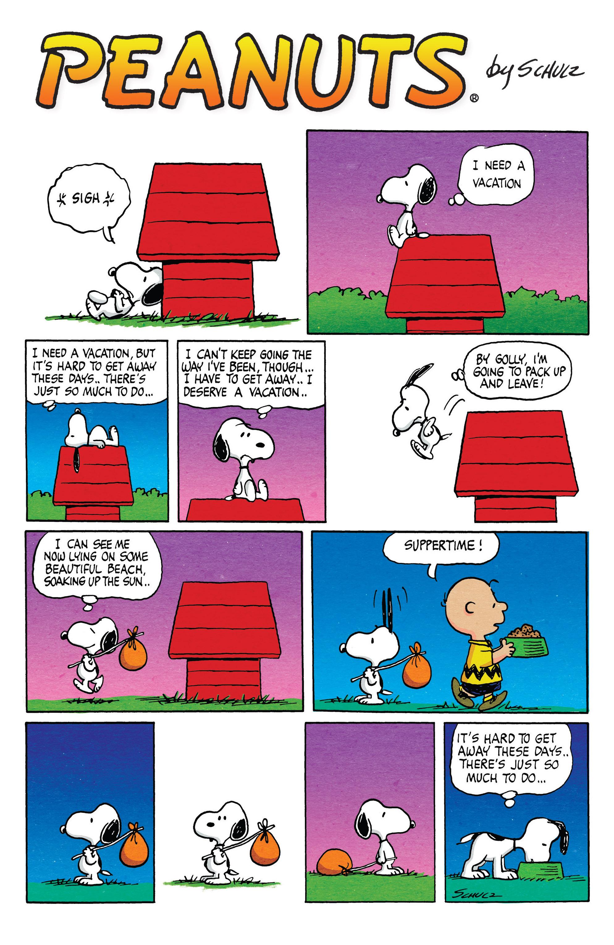 Read online Peanuts (2012) comic -  Issue #20 - 24