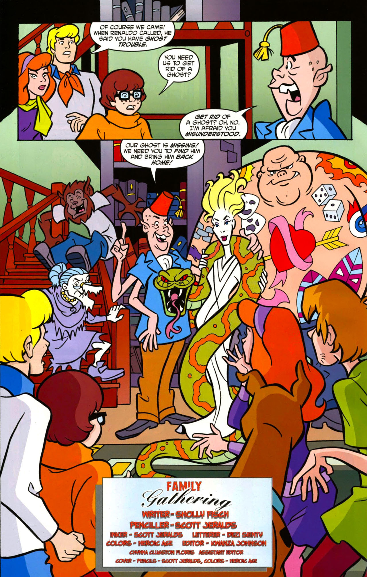 Read online Scooby-Doo: Where Are You? comic -  Issue #13 - 3