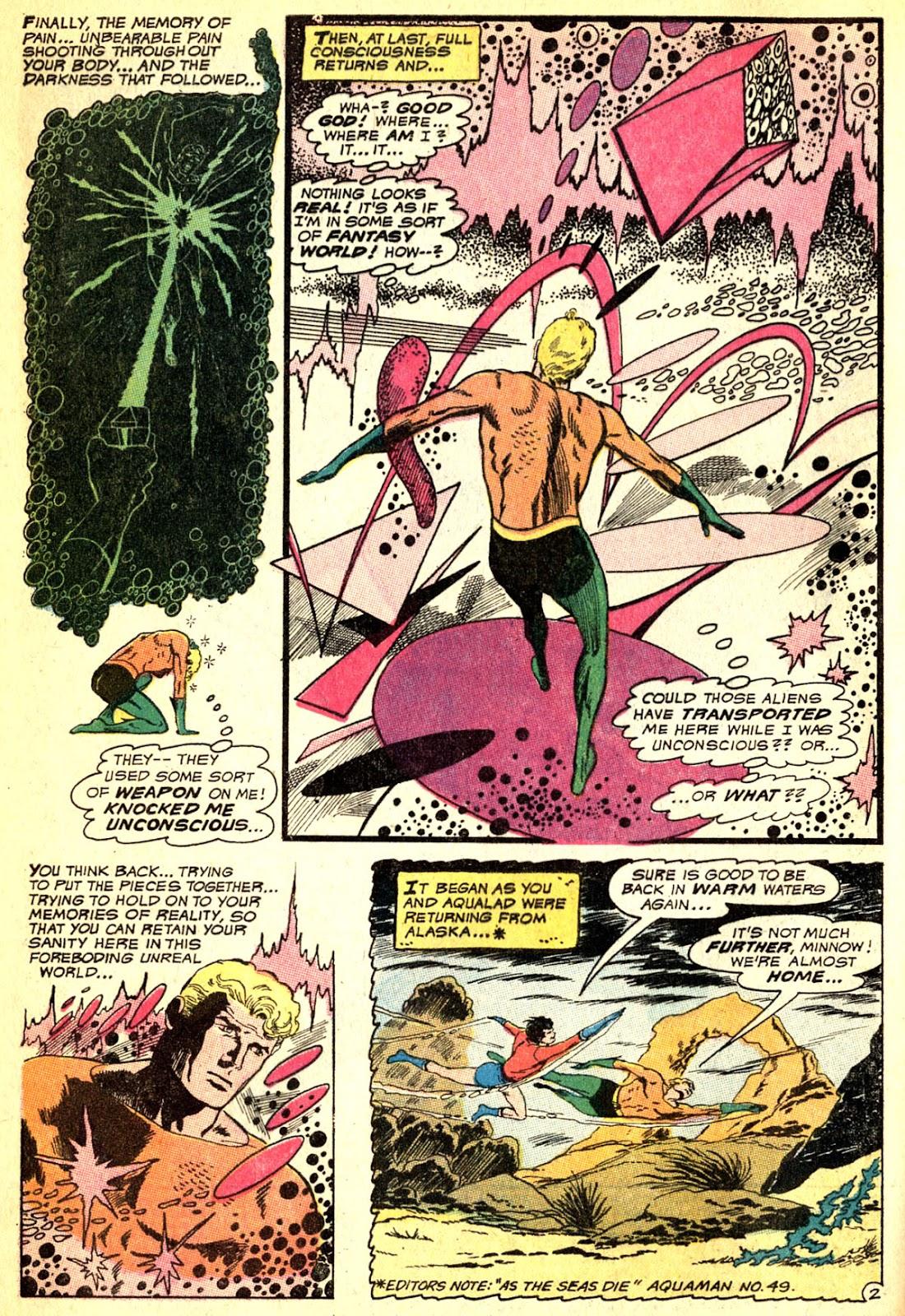 Aquaman (1962) Issue #50 #50 - English 4