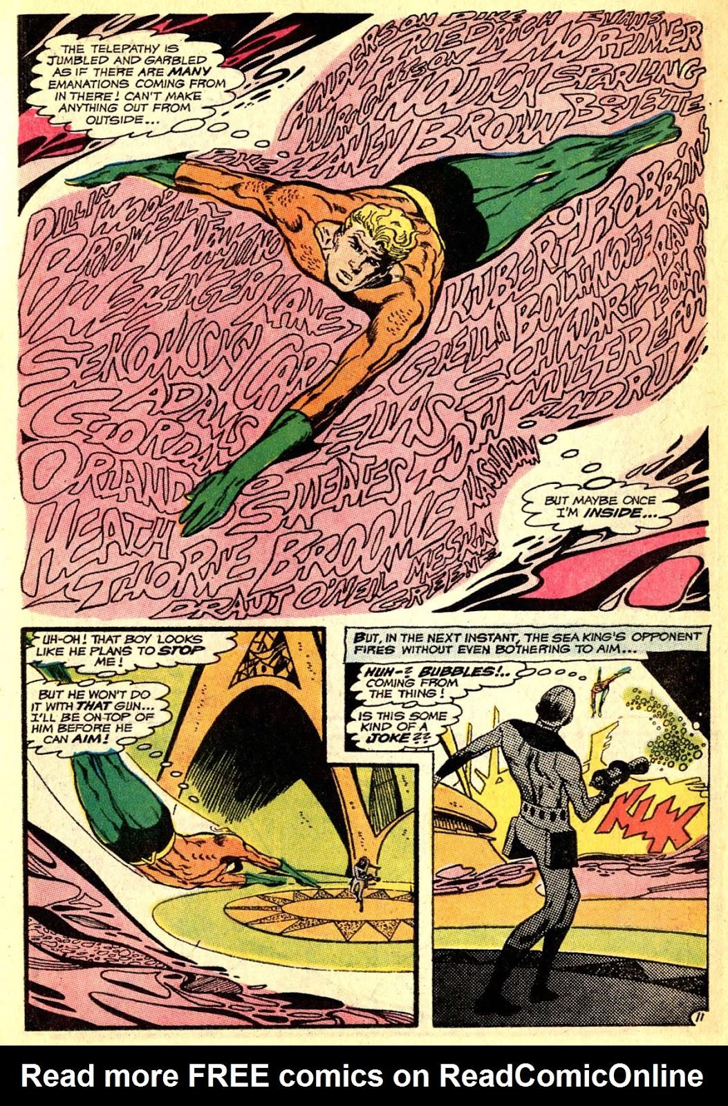 Aquaman (1962) Issue #50 #50 - English 15