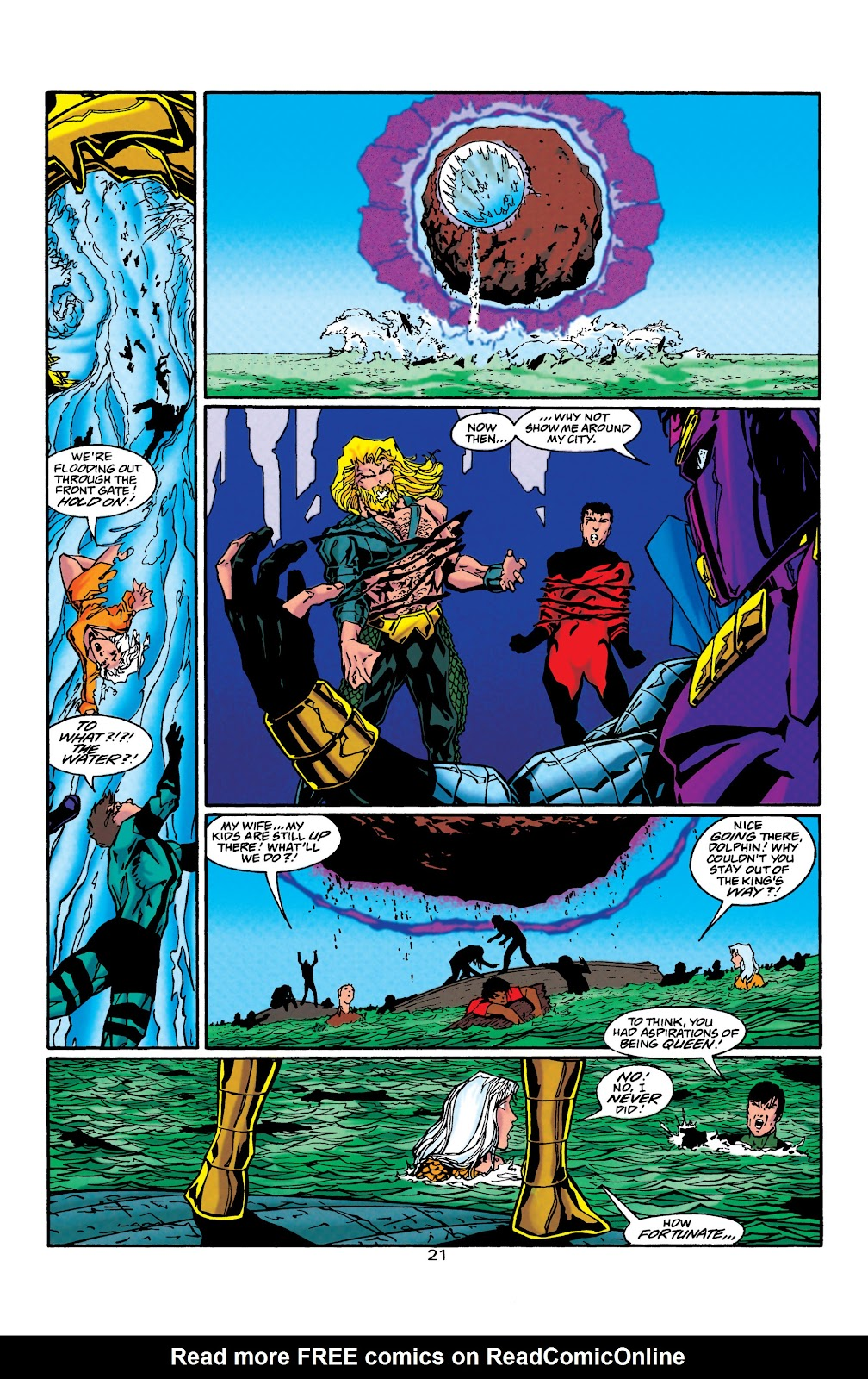 Aquaman (1994) Issue #40 #46 - English 22