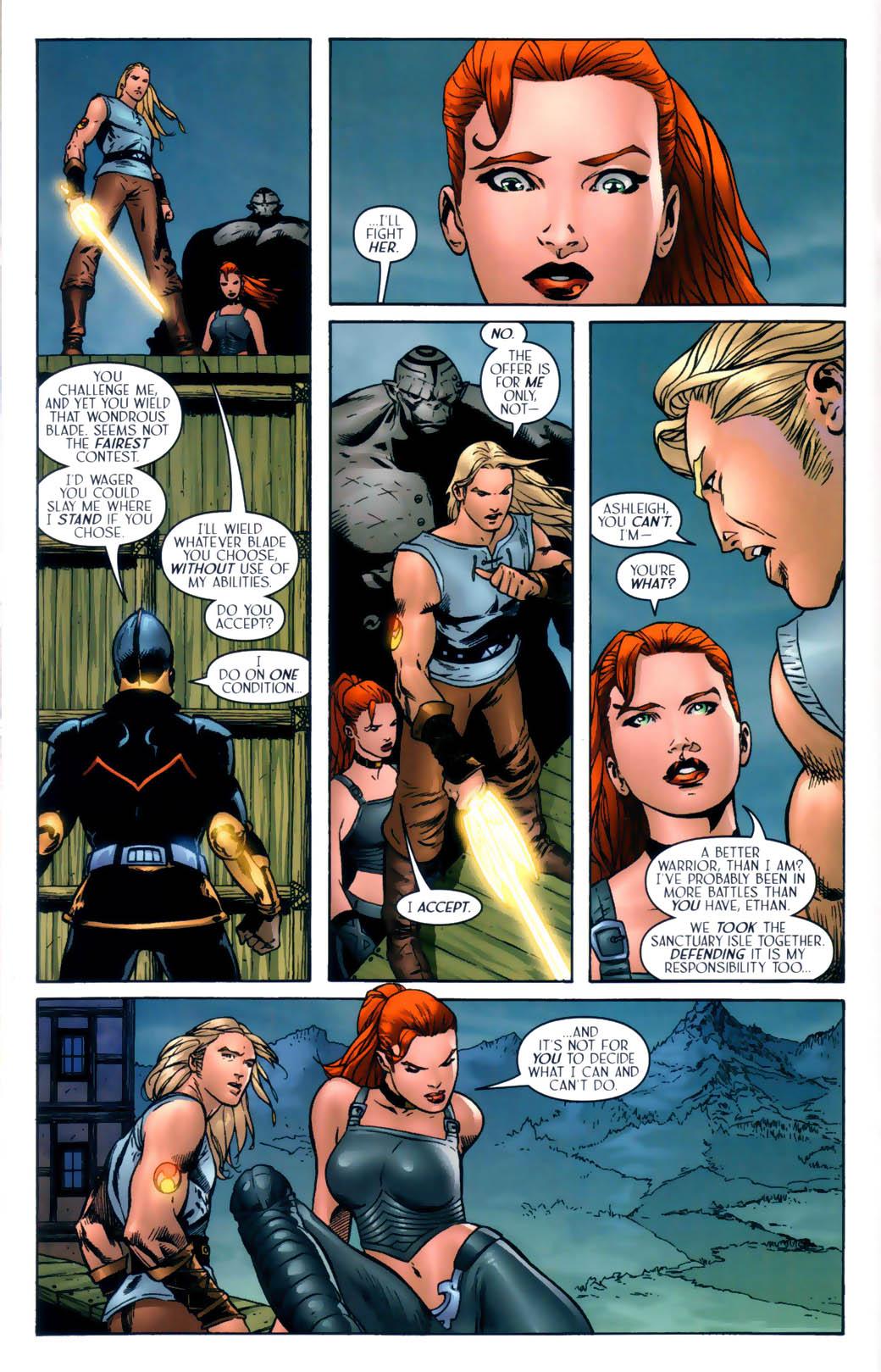 Read online Scion comic -  Issue #30 - 18