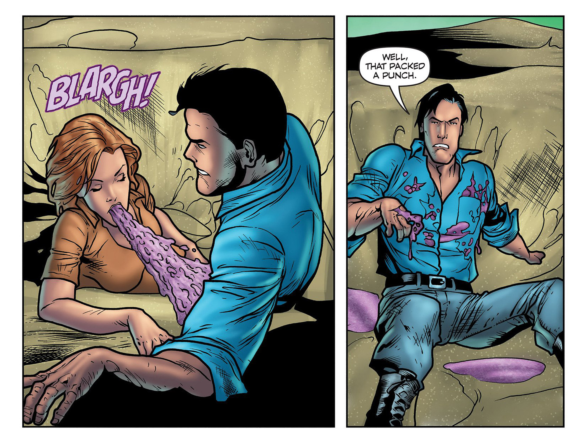 Read online Evil Dead 2: Cradle of the Damned comic -  Issue #3 - 7