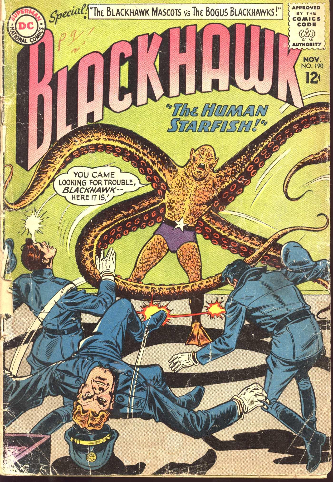 Blackhawk (1957) 190 Page 1
