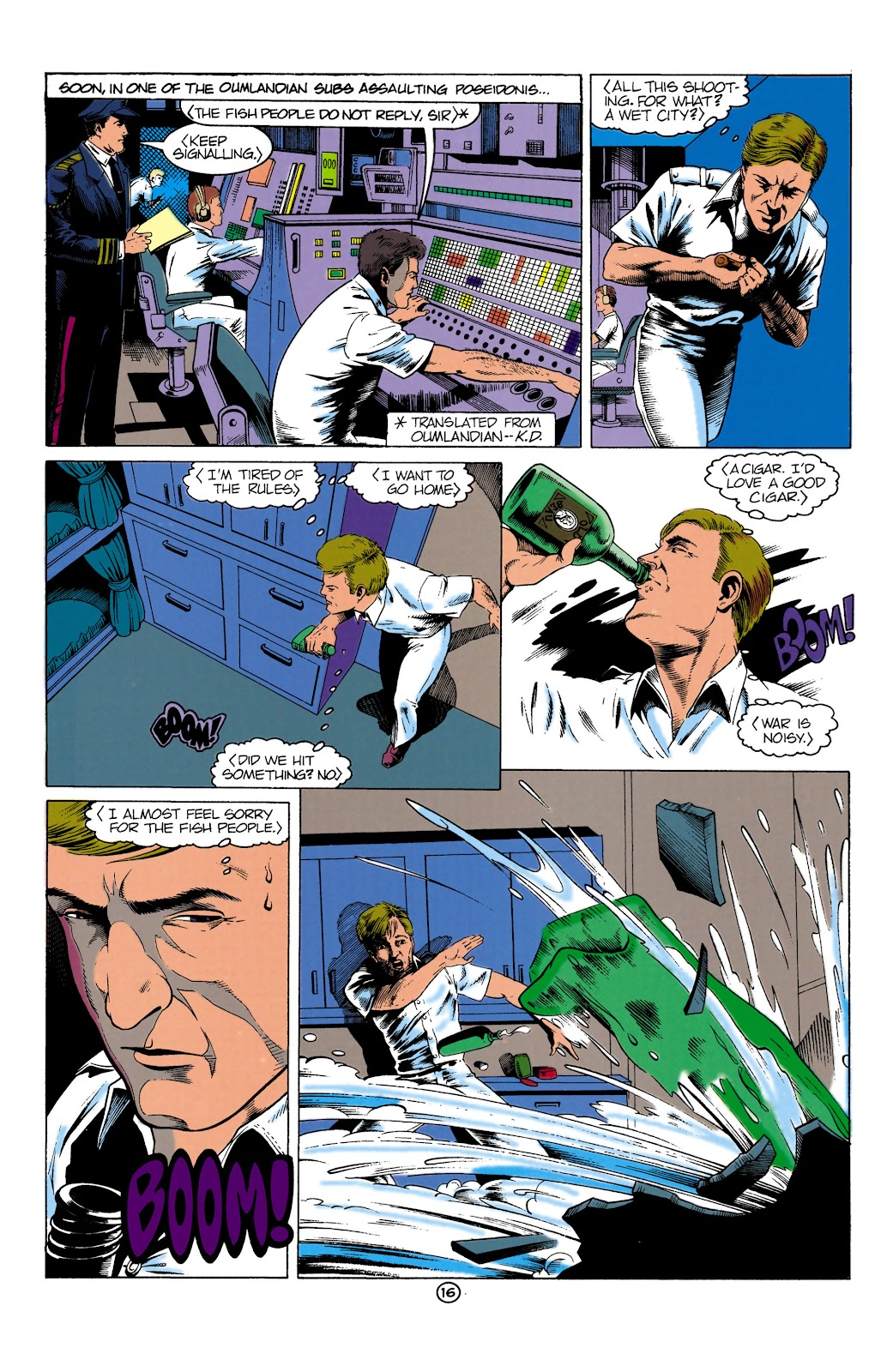 Aquaman (1991) Issue #1 #1 - English 16