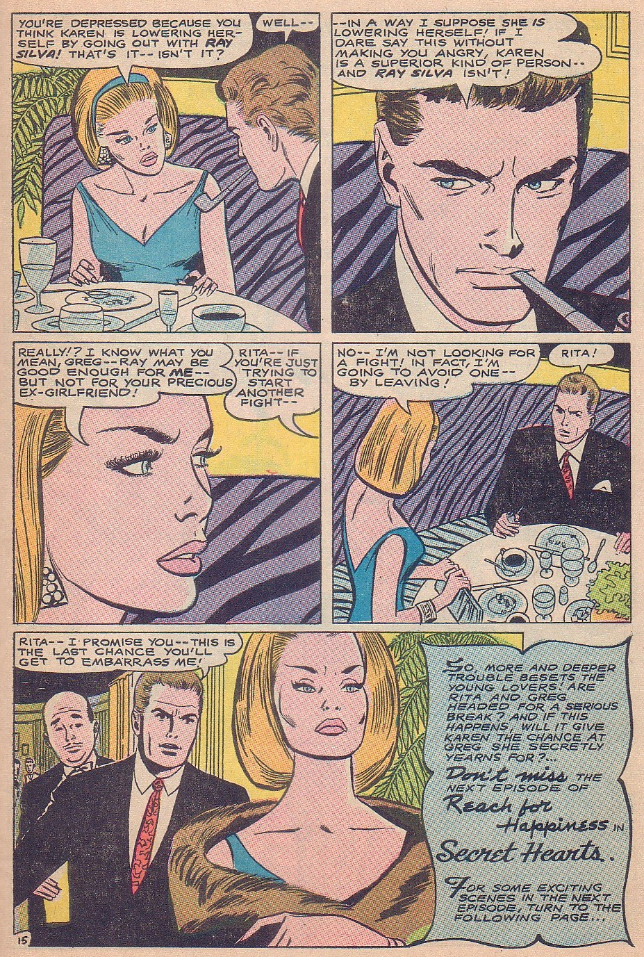 Read online Secret Hearts comic -  Issue #124 - 31