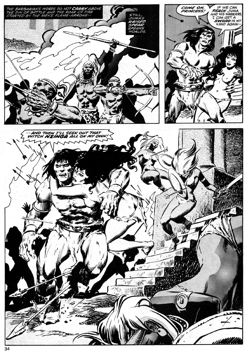 The Savage Sword Of Conan Issue #42 #43 - English 34