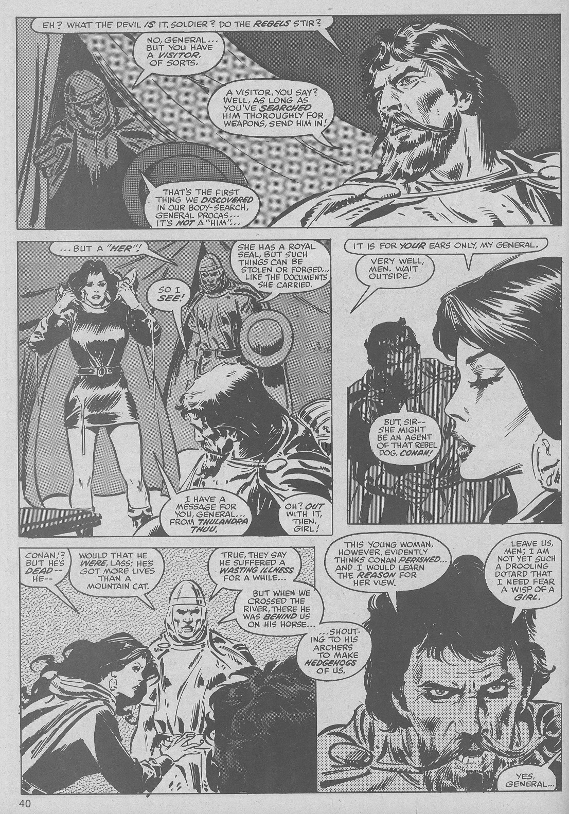 The Savage Sword Of Conan Issue #50 #51 - English 40