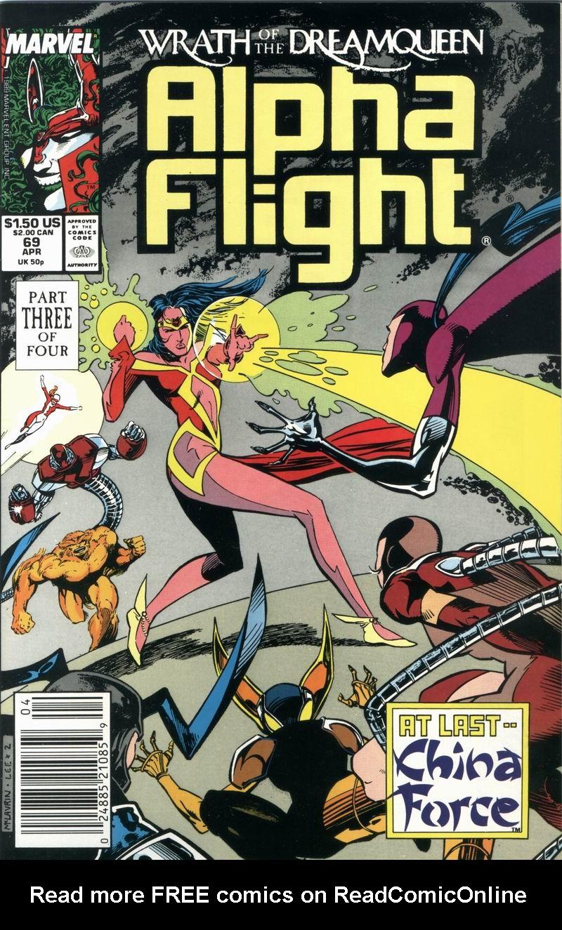 Alpha Flight (1983) 69 Page 1