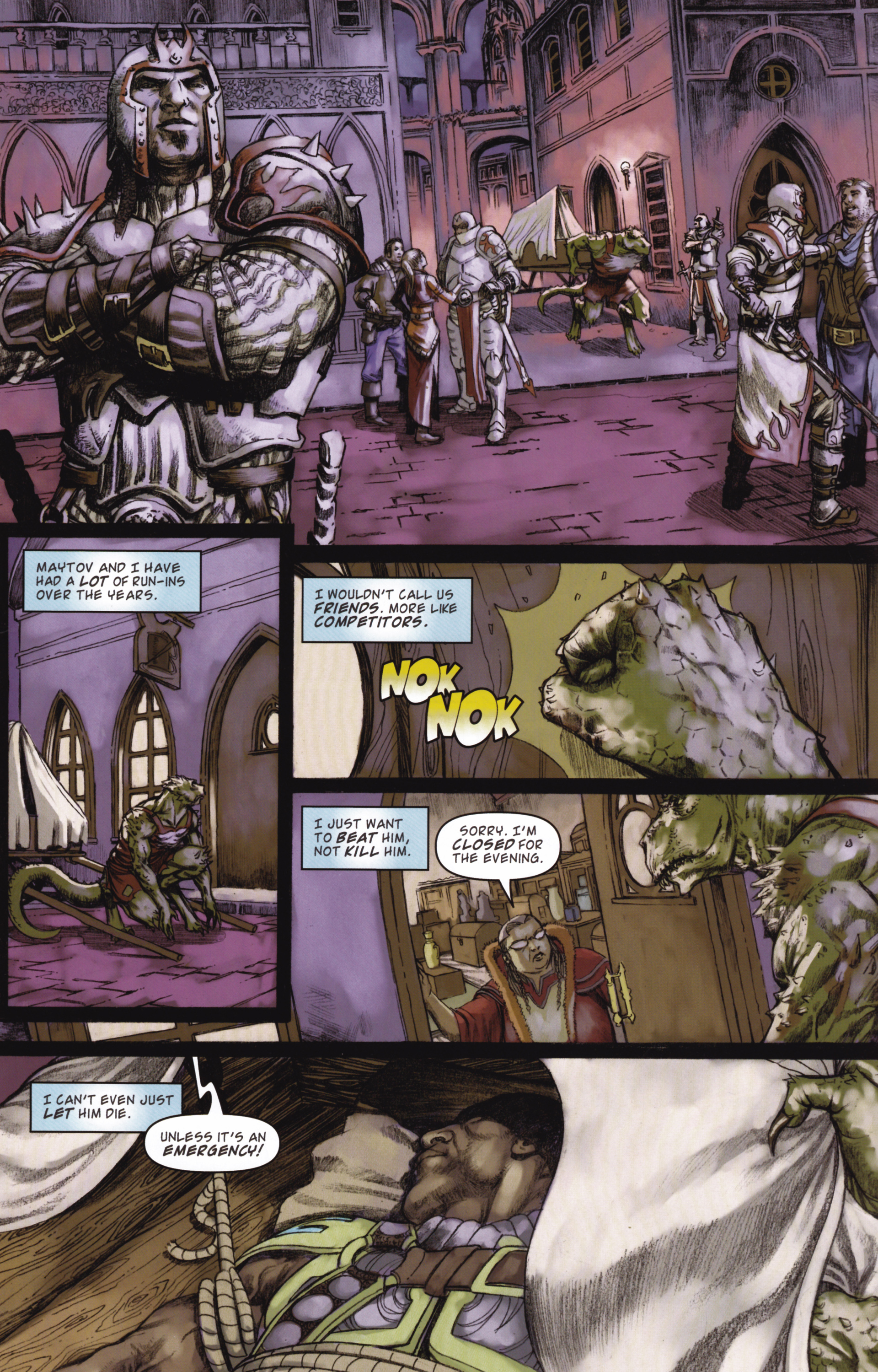 Read online Magic: The Gathering--Path of Vengeance comic -  Issue #2 - 16