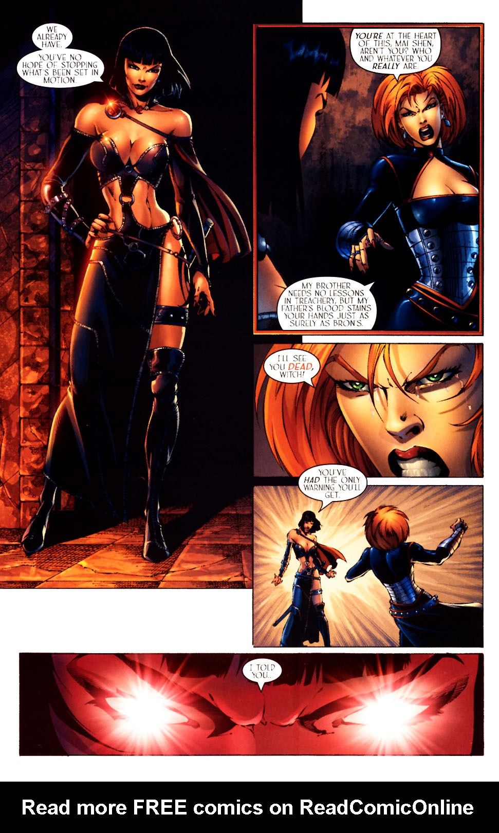 Read online Scion comic -  Issue #12 - 16