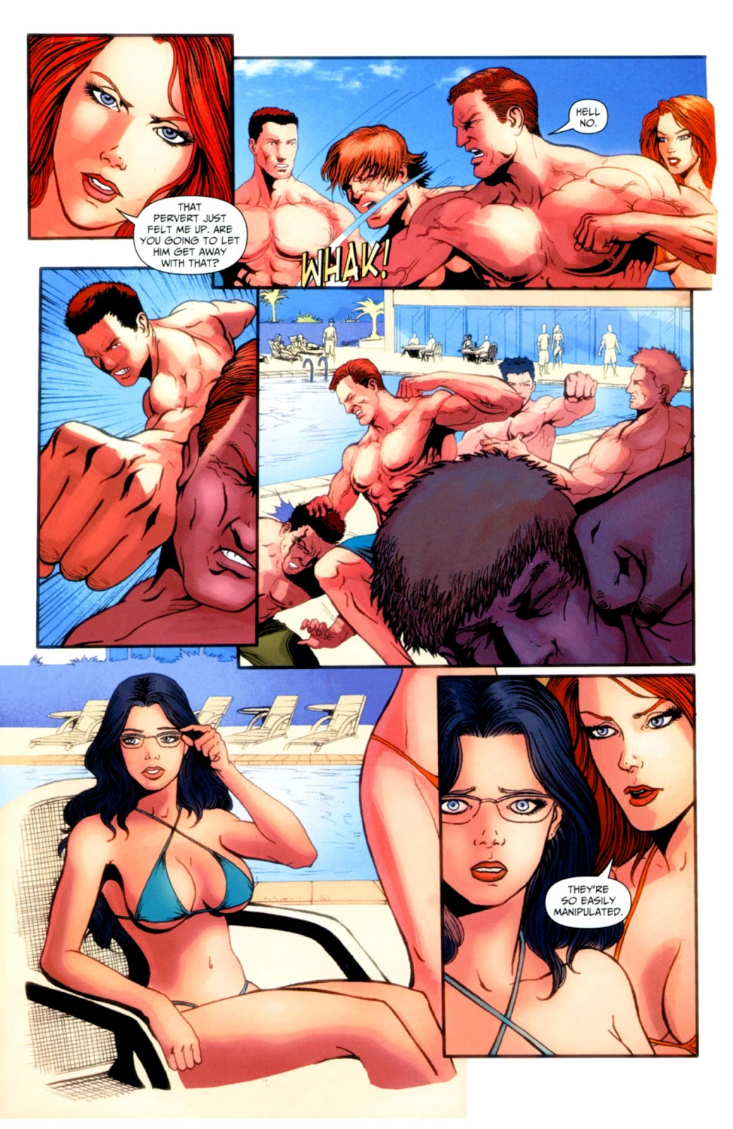 Grimm Fairy Tales: Swimsuit Edition Full #1 - English 29