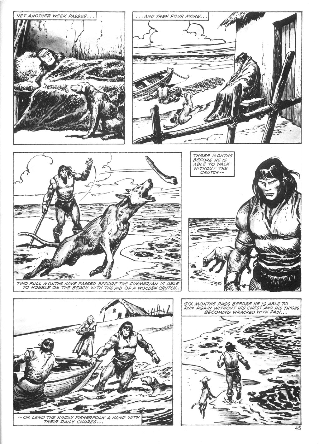 The Savage Sword Of Conan Issue #87 #88 - English 45