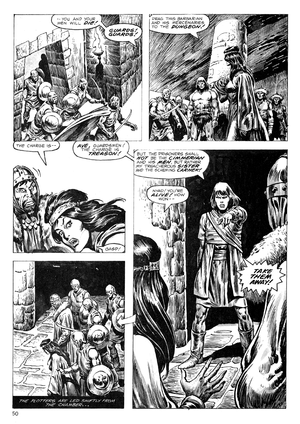 The Savage Sword Of Conan Issue #71 #72 - English 50