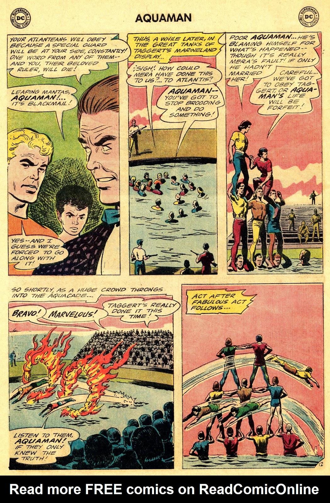Aquaman (1962) Issue #19 #19 - English 16