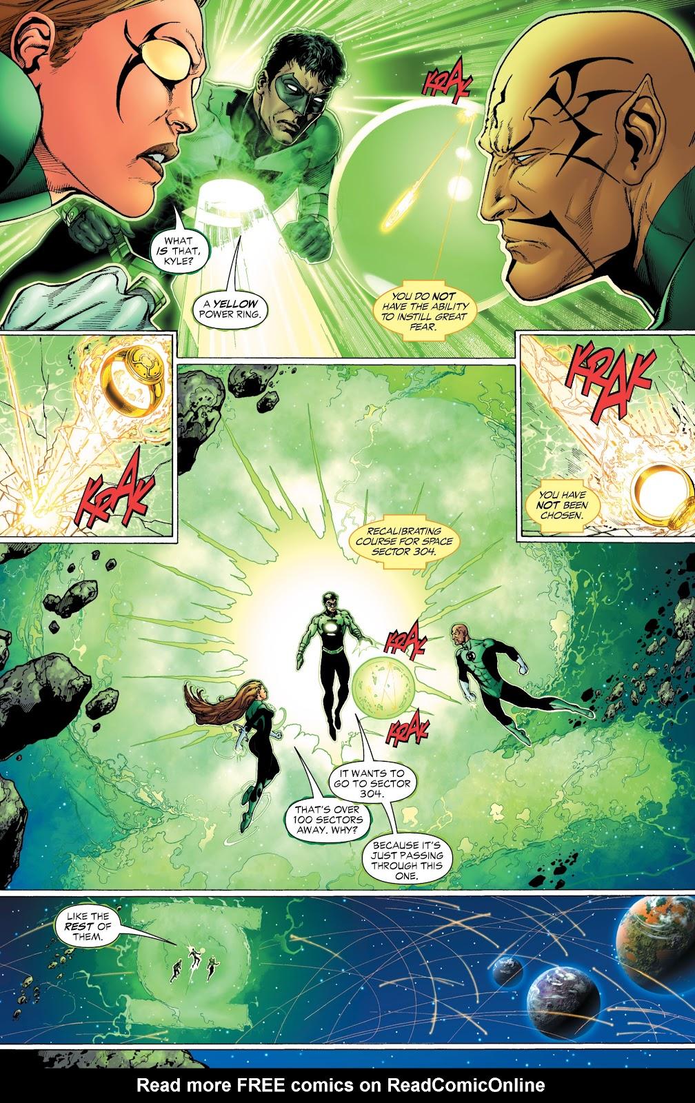 Green Lantern: The Sinestro Corps War Full #1 - English 18