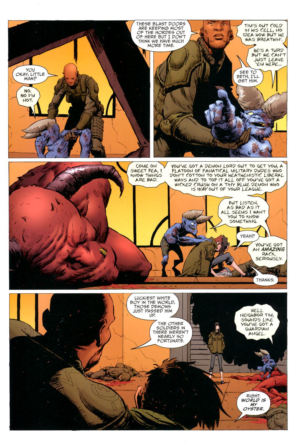 Strange Girl Issue #8 #9 - English 20