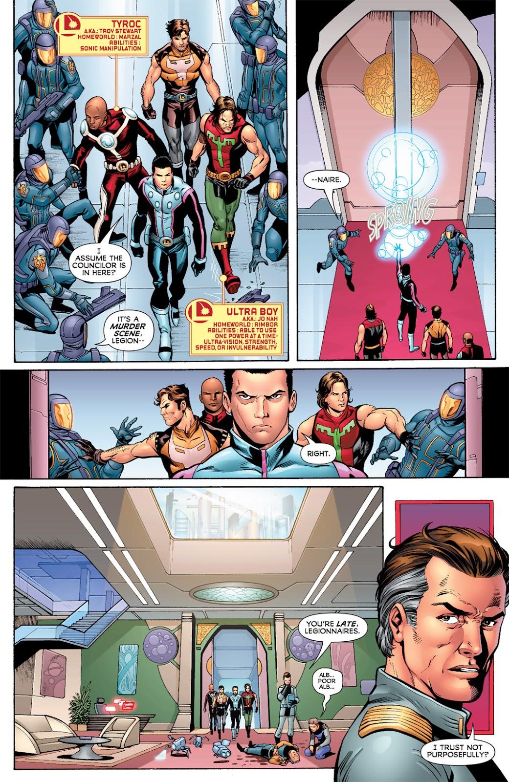 Legion of Super-Heroes (2010) Issue #7 #8 - English 3