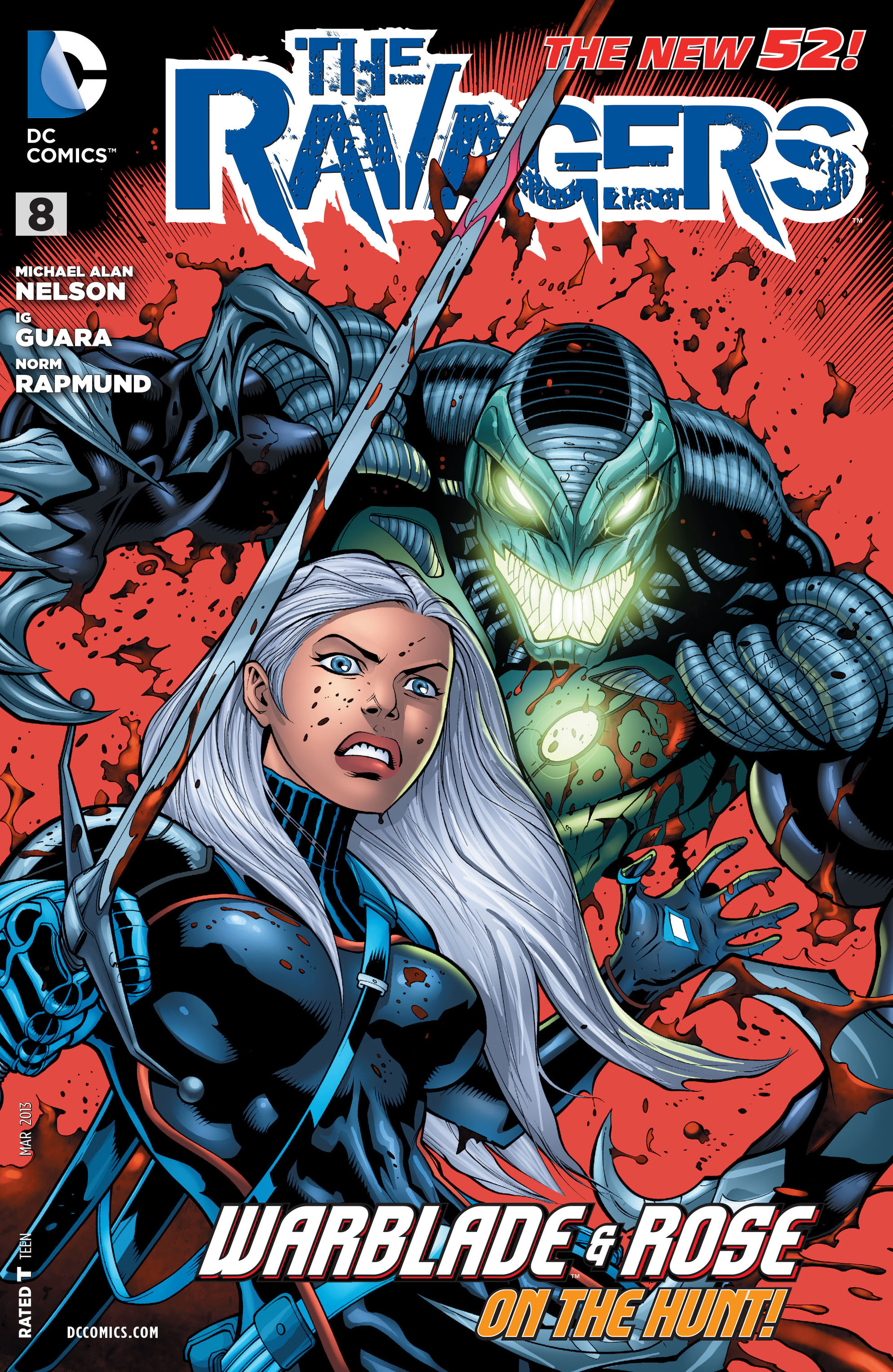 Read online The Ravagers comic -  Issue #8 - 1