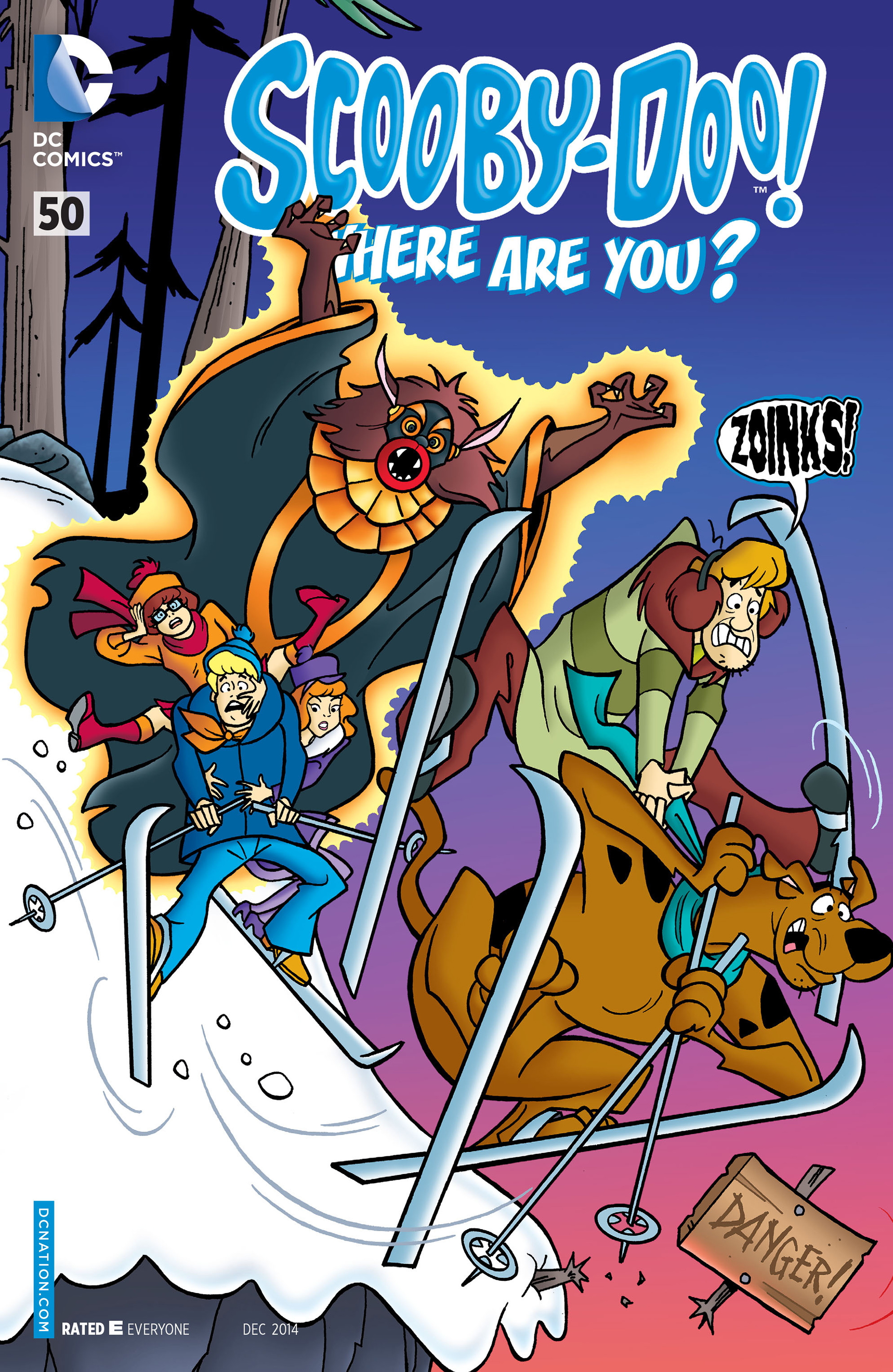 Read online Scooby-Doo: Where Are You? comic -  Issue #50 - 1