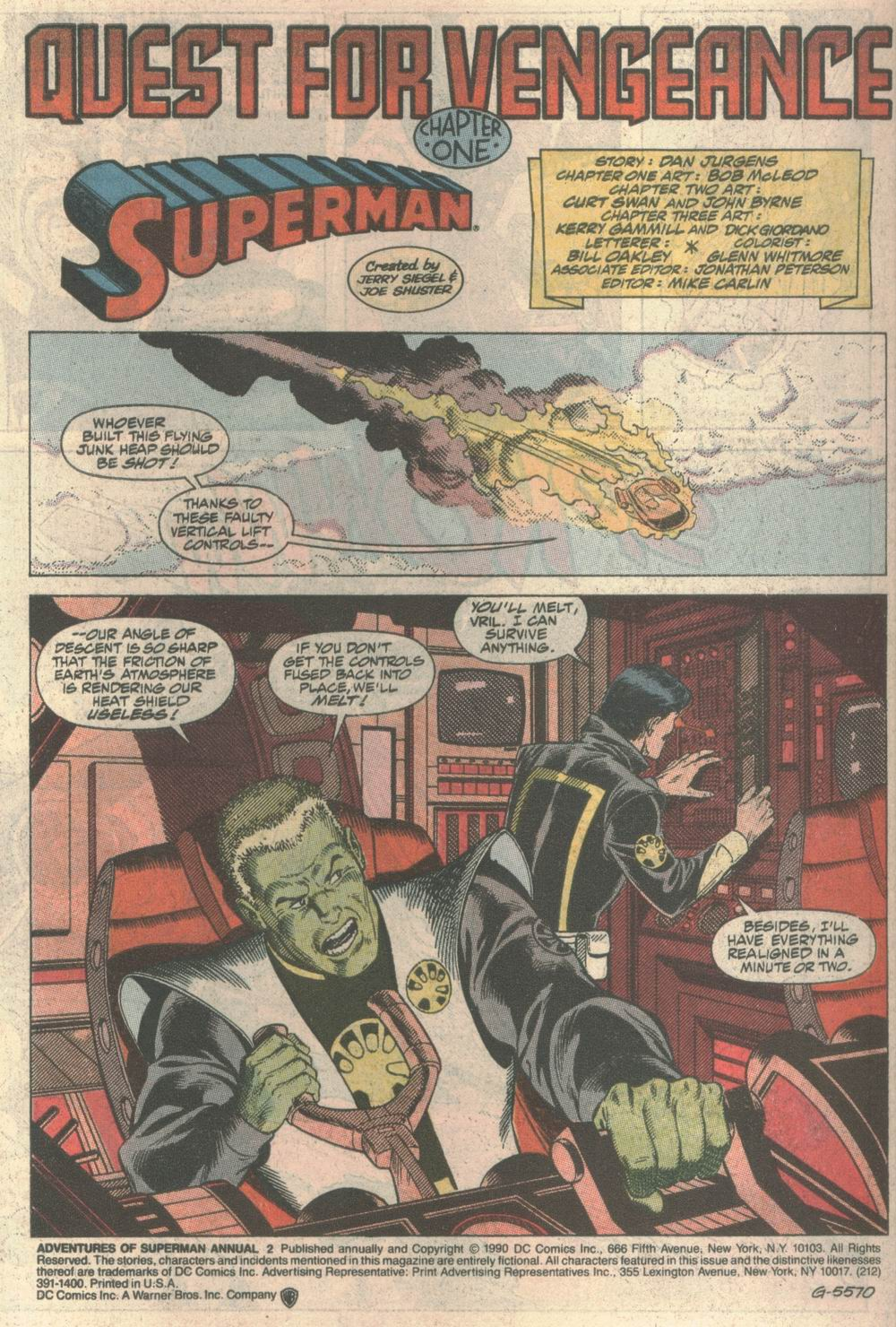 Adventures of Superman (1987) _Annual_2 Page 1