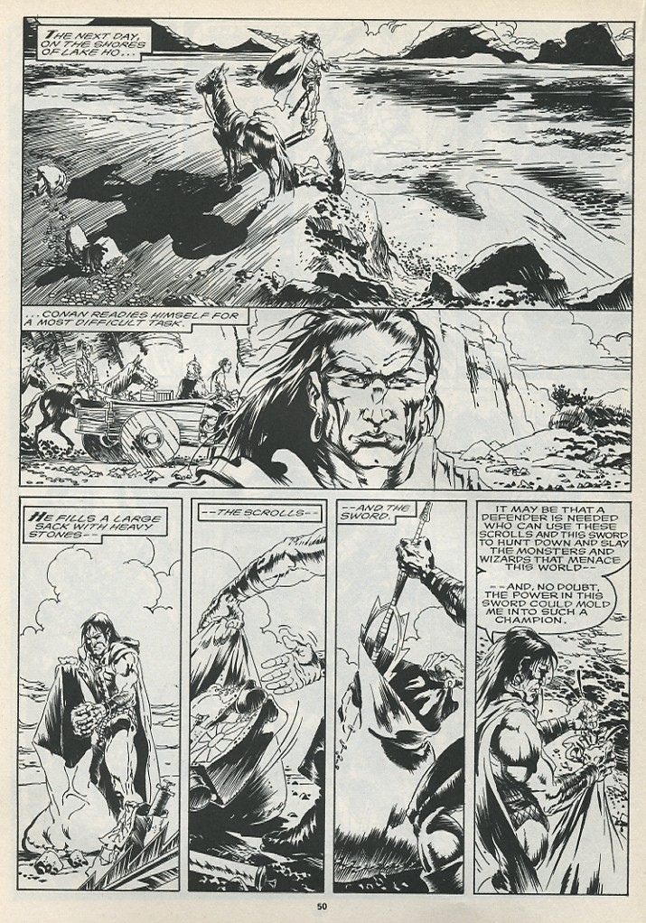 The Savage Sword Of Conan Issue #175 #176 - English 52
